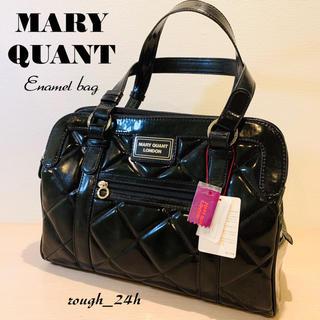 マリークワント(MARY QUANT)のタグ付未使用 MARY QUANT エナメル トートバッグ マリークワント(トートバッグ)