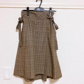 マジェスティックレゴン(MAJESTIC LEGON)のスカート(ひざ丈スカート)
