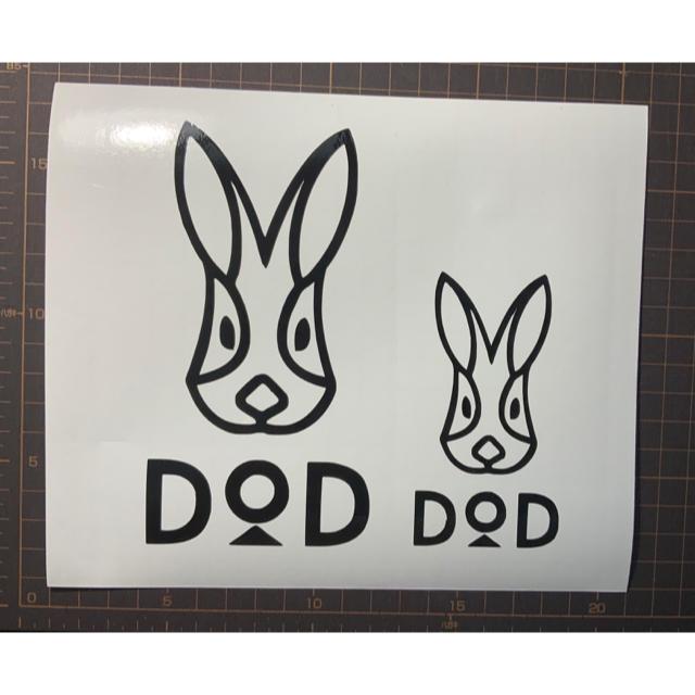 DOPPELGANGER(ドッペルギャンガー)のDOD カッティング ステッカー スポーツ/アウトドアのアウトドア(その他)の商品写真