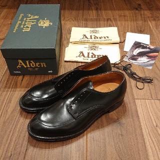 Alden - 新品未使用 オールデン ALDEN 54331 8.5D  Vチップ コードバン