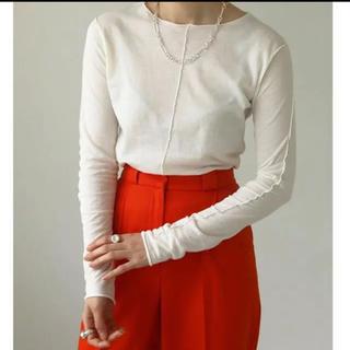 トゥデイフル(TODAYFUL)の【完売品!todayful 】Mellow Stitch Long TShirs(Tシャツ(長袖/七分))