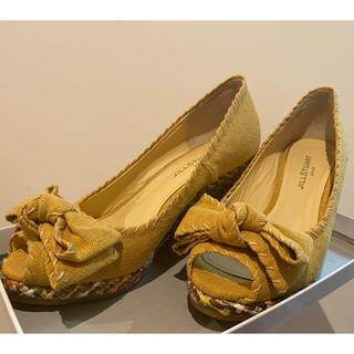 JILLSTUART - JILL STUART shoes オープントゥパンプス / 23.5cm