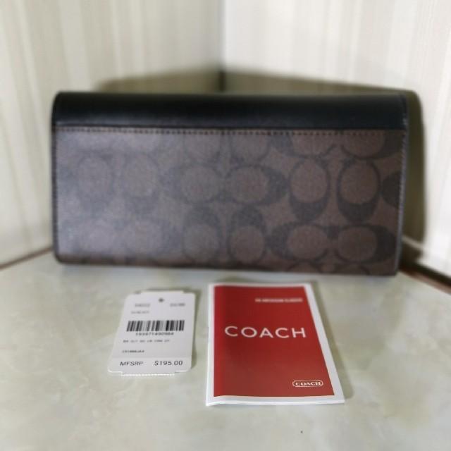 COACH(コーチ)のコーチ長財布レディース長財布f54022 レディースのファッション小物(財布)の商品写真