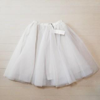 ココディール(COCO DEAL)のココディール チュールスカート スカート(ひざ丈スカート)