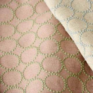 ミナペルホネン(mina perhonen)のミナペルホネン タンバリン pink × mint(生地/糸)