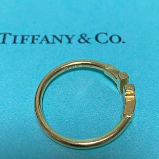 Tiffany & Co. - ティファニー Tワイヤーリング イエローゴールド