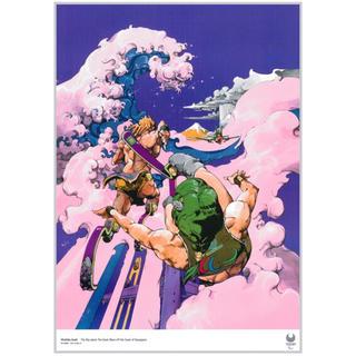 シュウエイシャ(集英社)の新品 荒木飛呂彦 東京2020 パラリンピック 公式アートポスター(ポスター)