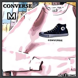 コンバース(CONVERSE)の【肌触り最高】CONVERSE スウェット ☆ 美品トレーナー 人気カラー 希少(スウェット)