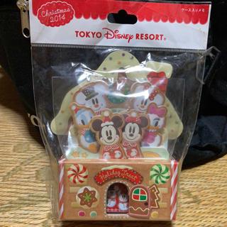 Disney - 2014年 ディズニーリゾート ケース入りメモ クリスマス christmas