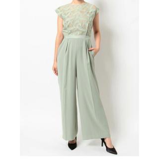 ラグナムーン(LagunaMoon)のLADYトライアングルパターンパンツドレス(その他ドレス)