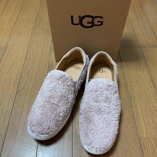 アグ(UGG)の新品 UGG リッチ ピンク 23.5 定価15400円(スニーカー)