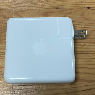Apple - Apple製純正 87W USB-C電源アダプタ MNF82J/A