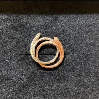 ゴンドア(gondoa)のELCAMI スネークリング(リング(指輪))