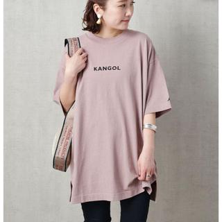 カンゴール(KANGOL)のKANGOL*ビックTシャツ(Tシャツ(半袖/袖なし))