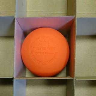 ラクロスボール ストレッチボール オレンジ 1個(ヨガ)
