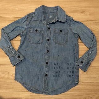 GAP デニムシャツ 130