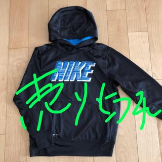 NIKE - ナイキ NIKE フード付き トレーナー  冬 キッズ M 145㎝