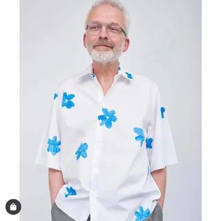 サンシー(SUNSEA)のcamielfortgens フラワーシャツ(シャツ)