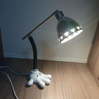 ディズニー(Disney)のミッキーの手 卓上ランプ 照明(テーブルスタンド)