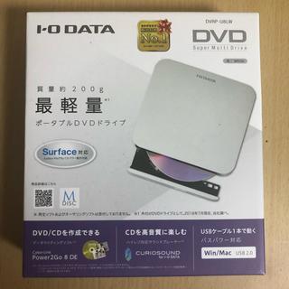 アイオーデータ(IODATA)のポータブルDVDドライブ(PC周辺機器)
