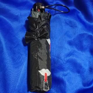 ジルスチュアート(JILLSTUART)のJILL STUART ジルスチュアート リップ柄 折り畳み傘 折りたたみ傘 (傘)