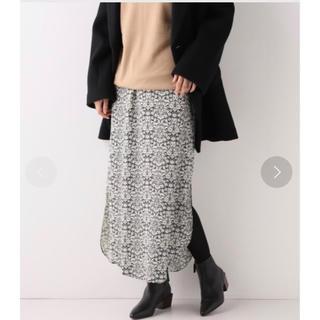 フレームワーク(FRAMeWORK)の【新品タグ付き】FRAMeWORK リバティプリントスリットスカート(ロングスカート)