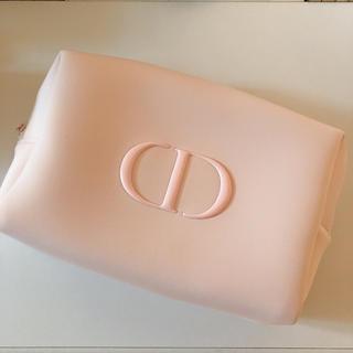 ディオール(Dior)のDior  ディオール ポーチ ノベルティ ピンク 大サイズ(ポーチ)