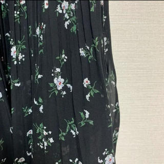 イング(INGNI)のINGNI ロングスカート プリーツスカート 花柄スカート(ロングスカート)