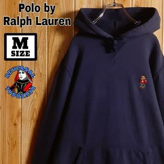 ポロラルフローレン(POLO RALPH LAUREN)のRalphLauren ラルフローレン 刺繍 星条旗 ポロベア パーカー(パーカー)