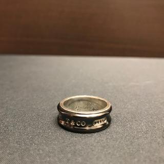 ティファニー(Tiffany & Co.)のTiffany 1837 チタンリング(リング(指輪))