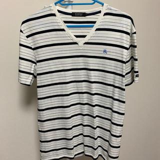 バーバリーブラックレーベル(BURBERRY BLACK LABEL)の*Vネック Tシャツ 半袖(Tシャツ/カットソー(半袖/袖なし))
