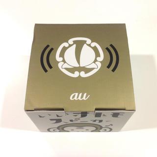エーユー(au)の【新品】au オトモスピーカー bluetoothスピーカー モバイルスピーカー(スピーカー)