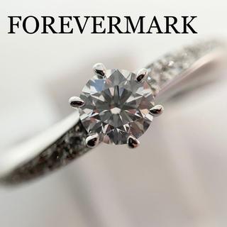 デビアス(DE BEERS)のFOREVERMARK フォーエバーマーク ダイヤモンドリング 0.3ct (リング(指輪))
