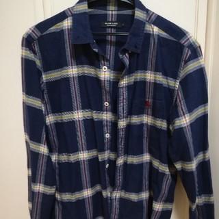 バーバリーブラックレーベル(BURBERRY BLACK LABEL)の美品バーバリーブラックレーベルシャツ(シャツ)