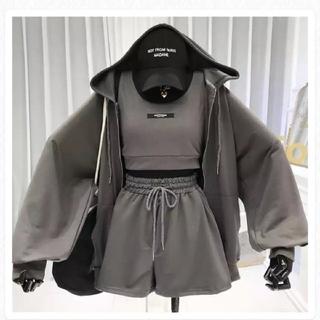 ♥️お洒落可愛い 海外ファッション 韓国ファッション インポート セットアップ♥