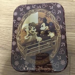 ミッキーマウス(ミッキーマウス)のミッキー 缶 TDS セピア ミニー (小物入れ)