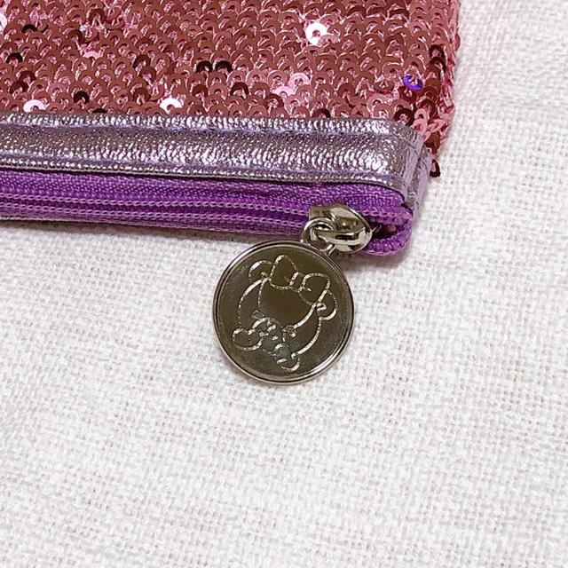 Samantha Thavasa(サマンサタバサ)のサマンサタバサ スパンコール お財布ポーチ レディースのファッション小物(ポーチ)の商品写真