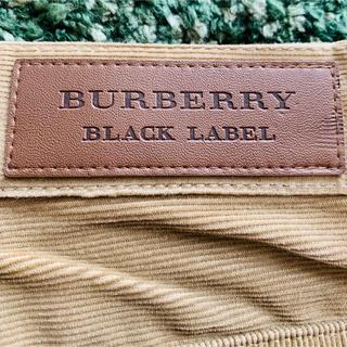 バーバリーブラックレーベル(BURBERRY BLACK LABEL)の148   バーバリーブラックレーベル コーデュロイ パンツ(ワークパンツ/カーゴパンツ)