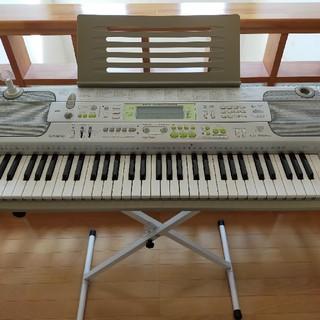 CASIO - 美品CASIO カシオ電子 キーボード ピアノlk202TVスタンドマイクセット