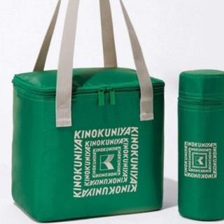 タカラジマシャ(宝島社)の素敵なあの人 10月号 付録 KINOKUNIYA 保冷バッグ 保冷ペットボトル(弁当用品)