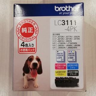 ブラザー(brother)のbrother LC3111-4PK インクカートリッジ  ブラザー(PC周辺機器)