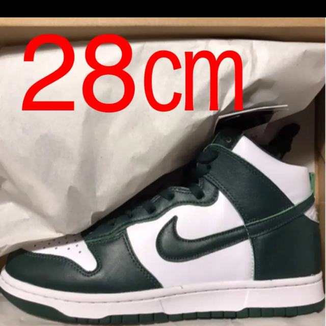 NIKE(ナイキ)の28㎝ NIKE DUNK HIGH SP Spartan Green メンズの靴/シューズ(スニーカー)の商品写真