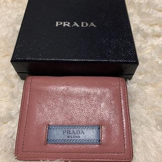 PRADA - PRADA プラダ 財布 二つ折り