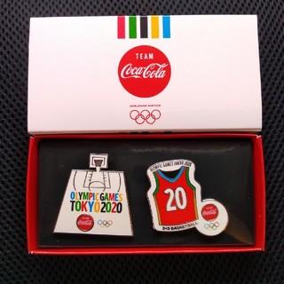 コカコーラ(コカ・コーラ)のコカ・コーラ 東京オリンピック ペアピンズ(ノベルティグッズ)