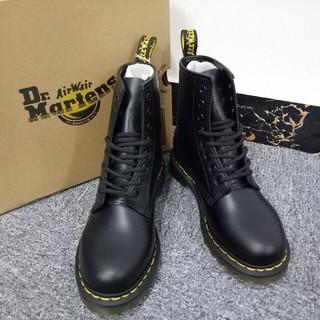 Dr.Martens - UK6 8ホール ブーツ Dr. Martens ドクターマーチン 黒 未使用