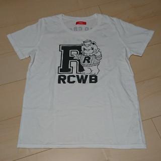 ロデオクラウンズワイドボウル(RODEO CROWNS WIDE BOWL)のRCWB★Tシャツ(ホワイト・M)(Tシャツ(半袖/袖なし))