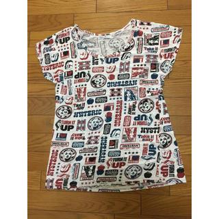 ヒステリックグラマー(HYSTERIC GLAMOUR)の中古ヒステリックグラマー総柄Tシャツ汚れあり半袖カットソー(Tシャツ(半袖/袖なし))