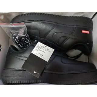 Supreme - Supreme Nike Air Force 1 Low Black 27.5