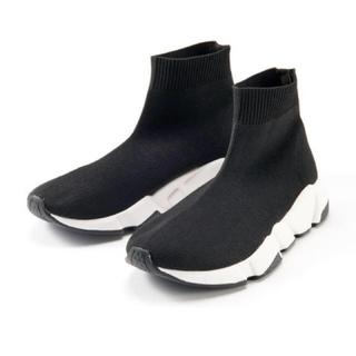 ココディール(COCO DEAL)のCOCO DEAL スニーカーソールニットブーツ(ブーツ)