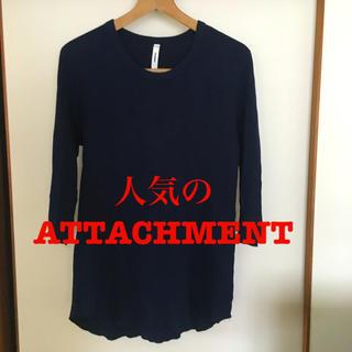 ATTACHIMENT - ATTACHMENT kazuyuki kumagai  ワッフル カットソー